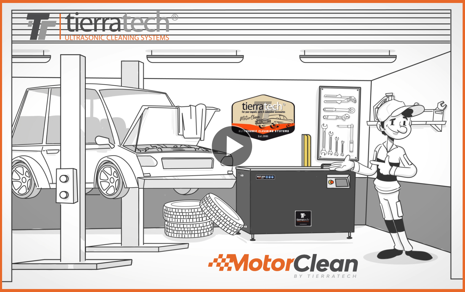 Ultrasonic cleaning in automotive workshops
