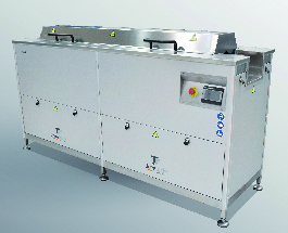 Ultrasnic cleaning designed for the graphic industry