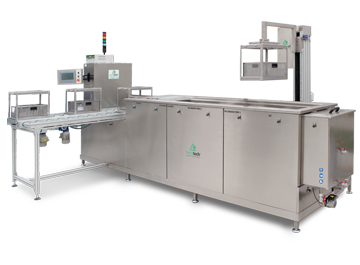 Single-stage and multi-stage Industrial Ultrasonic Cleaning machines
