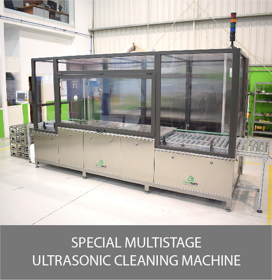 Special Multistage - Ultrasonic Cleaning