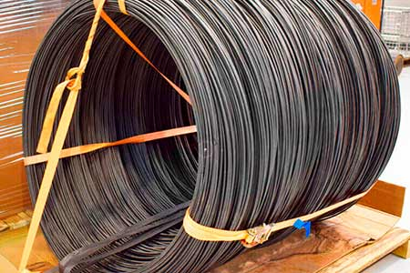 Steel cable cleaning
